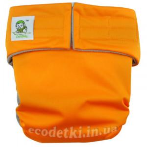 """Подгузники Coolababy """"Макси"""" с бамбуковым угольным фибром, Оранжевый"""