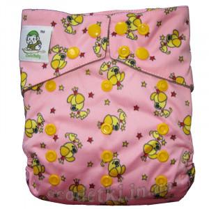 Многоразовый подгузник Сoolababy DUO до 3х лет, Собачки на розовом