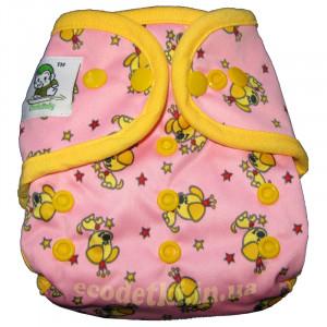 Подгузник Coolababy для новорожденных + вкладыш