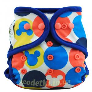 Подгузник Coolababy для новорожденных + вкладыш,