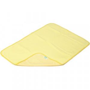 Пеленка Экопупс 50Х70см трикотаж непромокаемая эвкалипт /желтая