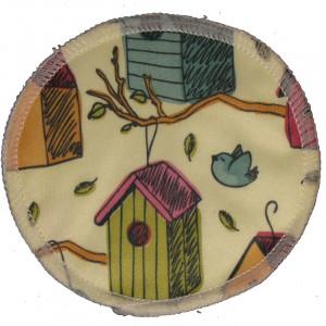 Бамбуковые лактационные прокладки-вкладыши для груди, гладкие