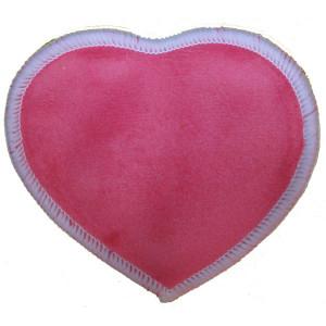 Многоразовые непромокаемые прокладки для груди Сердечко, Коралл