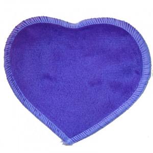 Многоразовые непромокаемые прокладки для груди Сердечко, Фиолетовый