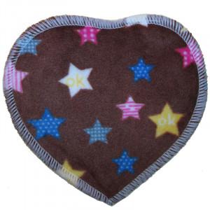 Многоразовые непромокаемые прокладки для груди Сердечко, Звезды