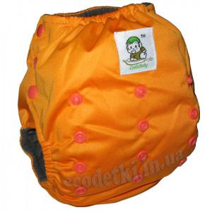 Тренировочные трусики Coolababy модель Pull Up Pants с бамбуковым угольным фибром, Оранжевый