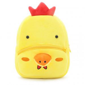 Рюкзачок детский плюшевый с мордочками животных,Цыпленок