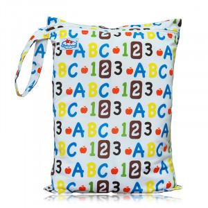 Многоразовые непромокаемые сумочки для мокрого белья, подгузников, Babyland, 123